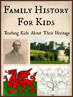 family history for kids teaching kids about their heritage
