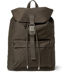 A.P.C. Cotton-Canvas Backpack | MR PORTER