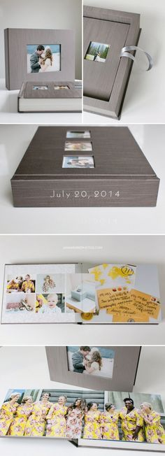 Timeless album, Renaissance Albums, Soho book, Mod Box, Silk Taupe cover, High end wedding albums, Best Kansas City wedding photographers, KC weddings, Fine Art albums, wedding book, Acrylic cover,  spine imprinting, silver foil stamp, 3 openings on cover, Rocky mountain weddings, Colorado Weddings, The Winding River Ranch, Lark Photography