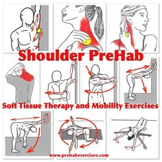 """""""Instagram Shoulder PreHab  Restore the full range of motion in your shoulders as part of your training program to make sure you get the most out of every…"""""""