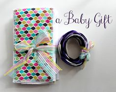 Taylor Made: a baby gift and the perfect burp cloths