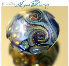 BeadsBot Blog | Glass Lampwork Beads, Art Components, Natural Cosmetics in Vintage Wrappings: New Lampwork Beads, Double Helix, and a new Tutorial too!