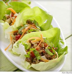 Five-Spice Turkey and Lettuce Wraps from @WebMD