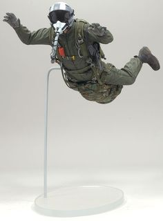 McFarlane Military Series 7 Air Force Halo Jumper action figure toy