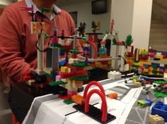 lego serious play used for creating scenarios, prototyping service and systems and exploring environmental designs