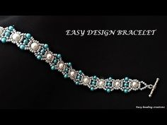 2020 new design bracelet. Beaded Bracelets Tutorial, Diy Bracelets Easy, Beaded Bracelet Patterns, Handmade Bracelets, Beaded Jewelry Designs, Seed Bead Jewelry, Bead Jewellery, Bracelets Design, Diy Bracelet Designs