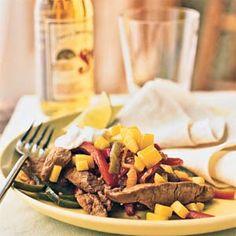 Pork Fajitas with Mango - I want it with chicken