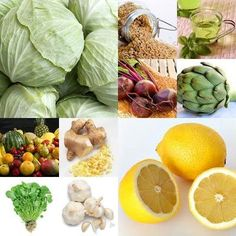 Top 10 Detox Foods:  Lemons, Ginger, Garlic, Artichoke, Beetroot, Green Tea, Cabbage, Fresh Fruit, Brown Rice, Watercress.   I would add Cilantro to the list as well...