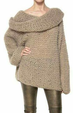 Camel Off the Shoulder Long Sleeve Chunky Sweater . Shop Camel Off the Shoulder Long Sleeve Chunky Sweater online. abaday offers Camel Off the Shoulder Long Mode Style, Style Me, Moda Crochet, Fashion Outfits, Womens Fashion, Pulls, Autumn Winter Fashion, Knitwear, Cute Outfits