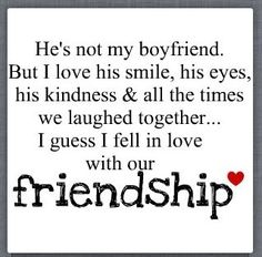 See how it says friendship not relationship so stop saying we are going out other girls hang out with guys to so why me and him get accuse of going out and not the others?