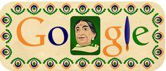 Sarojini Naidu's 135th Birthday Celebrated by Google Doodle