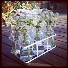 My mini milk bottles :) 10th Birthday, Birthday Parties, Mini Milk Bottles, Funny Farm, Summer Parties, Sauce Bottle, Beautiful Images, Party Time, Glass Vase