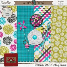 FREE JMC Designs - Digital Scrapbooking Kits: SNP April 2016 Blog Train
