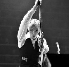 "vezzipuss.tumblr.com — David Bowie, ""Isolar 1"", Circa 76 〰🎶〰"