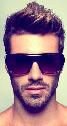 men's glasses, Justin Clynes.