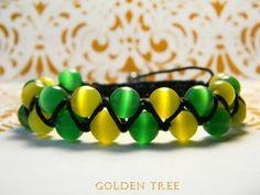 Double bracelet Shambala. Двойной браслет Шамбала. - YouTube