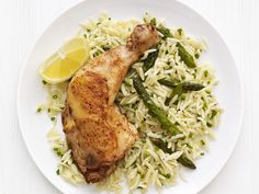 Get this all-star, easy-to-follow Roast Lemon Chicken with Orzo recipe from Food Network Kitchen