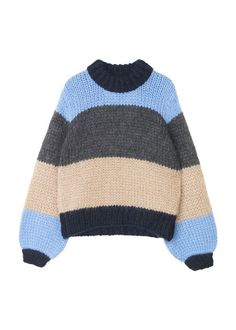 The Julliard Mohair Striped Pullover, Block Colour Cute Sweaters, Pullover Sweaters, Sweaters For Women, Vintage Pants, Mode Inspiration, Sweater Weather, Passion For Fashion, Autumn Winter Fashion, Retro
