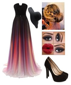 """Beautiful Eccentric Dress"" by taylor-kennedy-i ❤ liked on Polyvore featuring Jessica Simpson and Peter Grimm"