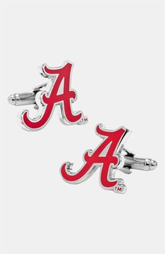 Wedding Gift for Mark….Cufflinks, Inc. 'University of Alabama Crimson Tide' Cuff Links available at #Nordstrom