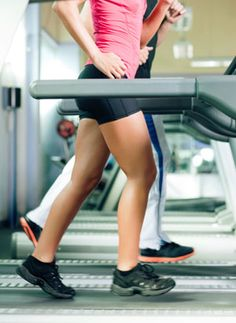 Hour treadmill workout:  3 minutes running / 3 minutes walking high incline/  3 minutes high knee skips / 3 minutes running backwards / 3 minutes side skips; alternate each leg for 1.5 minutes    repeat this 15 minute sequence 4x to fulfill an hour of cardio.