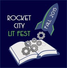 We're excited about our new logo!  Share it away, and don't forget to visit us on the web :-) http://www.rocketcitylitfest.com/