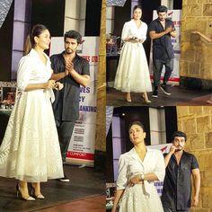 Two hot!  Arjun Kapoor and Kareena Kapoor Khan at #KiAndKa's #WomensDay celebrations. by #Filmfare. Shared by #BollywoodScope