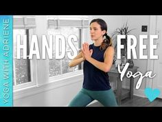 15 min Hands Free Yoga Workout! Get centered, relieve stress and tone the legs as you nurture the spine! (Seriously, this one is awesome for the legs and boo...