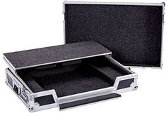 DEEJAY LED TBHMCX8000LT Fly Drive Case For Denon MCX8000 Standalone DJ Player & DJ Controller with Laptop Shelf