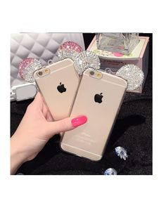 Etui Diamentowe Uszka do Apple iPhone 6 / iPhone 6S