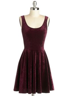 Velvet, If You Please Dress, #ModCloth