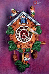 Enesco Small World of Music Clock Watchers Music Box Retired