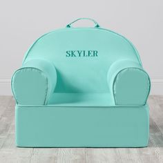 Personalized Executive Nod Chair (Mint)