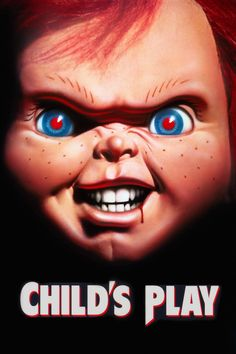 Wendy's favorite scary movie is Childs Play. Chucky sure is one scary, Creepy living doll Scary Movies, Horror Movies, Chucky Face, Chucky Movies, Child's Play Movie, Movie Film, Childs Play Chucky, Bride Of Chucky, Horror Icons
