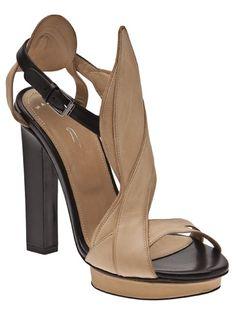 MAIYET Leafy Heel would add interest to any outfit