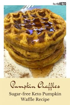 These Keto Pumpkin Chaffles are absolutely delicious! Try these for the perfect fall keto breakfast ideas and keto thanksgiving breakfast meals. These keto pumpkin waffles are easy to make and so warm and comforting. #ketowaffles #pumpkinwaffles #chaffles #pumpkinchaffle Pumpkin Waffles, Cheese Pumpkin, Canned Pumpkin, Pumpkin Puree, Pumpkin Spice, Fall Breakfast, Breakfast Meals, Best Pumpkin, Food Journal