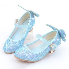 Girls Shining Sequined Butterfly Pattern Princess Kitten Heel Shoes is cheap, come to NewChic and buy the best kids shoes now! Little Girl Heels, Girls Heels, Toddler Sandals, Toddler Sneakers, Kitten Heel Shoes, Shoes Heels, Dress Shoes, Buy Shoes, Me Too Shoes