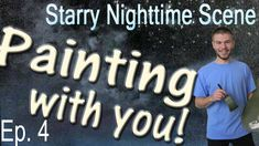 In this episode of the Starry Nighttime Oil Painting with You, we paint in some evergreen trees! This painting is almost complete, so please be sure to vote for how you would like the painting to finish. For more information on the voting process, please visit: www.paintwithkevin.com/vote