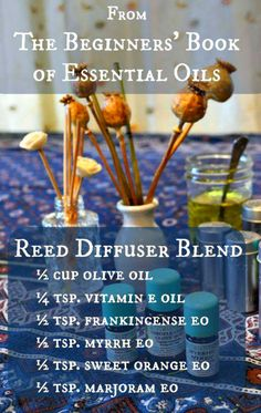 This blend as well as others can be found on www.GardenChick.com/the-beginners-book-of-essential-oils