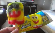 Warning: This Ice Cream May Not Contain Anything Resembling SpongeBob