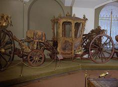 Carriage for Two Persons   Germany; Berlin   1740   ashwood, velvet, bronze, iron   Kremlin State Historical Museum   Belonged to Empress Elizabeth Petrovna