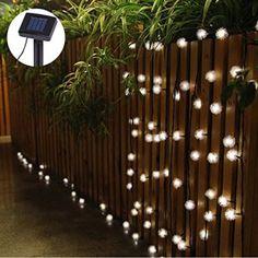 Guirlandes lumineuses d extérieur 30 LED Solaire Etanche]VicTsing