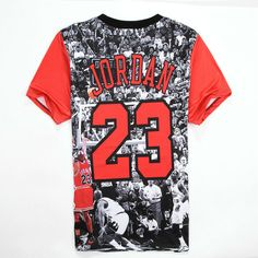 f8c8c0c4e404 Alisister Mens Jordan T Shirt 23 Short Sleeve Printed Hip Hop T Shirt 2017 Men s  Hipster Clothing Streetwear Punk Tees Shirts