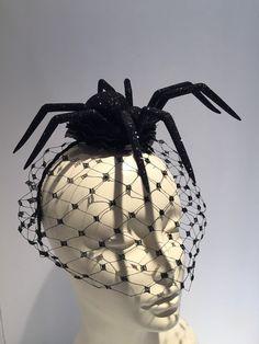 Spider headdress-spider-black widow-spider by doramarra on Etsy