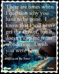 Wish~From Angels at My Door on Facebook