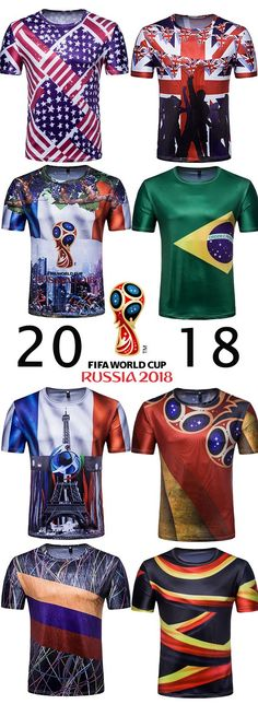 c7b4a7328 The 2018 FIFA World Cup is just around the corner, Dresslily offers some  fashion esstionals for men during the world cup, like graphic tees, ...