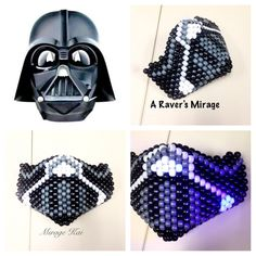 Star Wars Darth Vader Helmet Mortal Kombat Style Kandi Mask