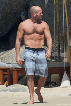 Pin for Later: The 40 Hottest Shirtless Moments of 2016 — So Far! Jason Statham