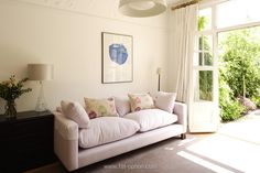 At Option we represent top location houses for photoshoots in London and the rest of the UK. London Location, Sofa, Couch, N21, French Doors, Beautiful Homes, Love Seat, Rest, Living Room
