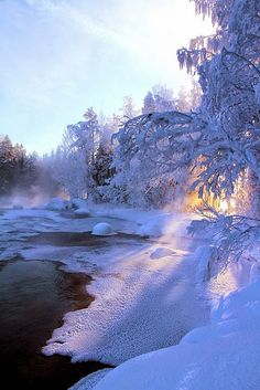 Frozen Lake, Finland – Miracles from Nature Winter Szenen, Winter Magic, Winter Time, Winter Christmas, Winter Walk, Winter Light, Winter Travel, Foto Picture, All Nature